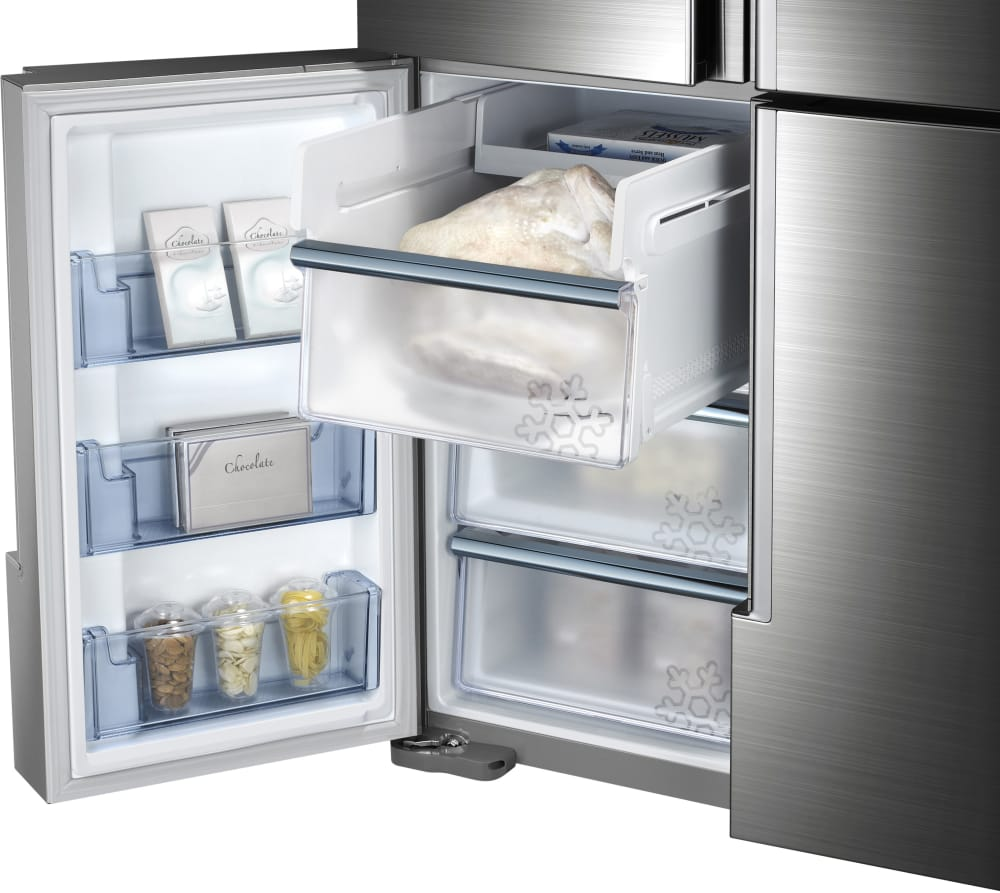 Samsung Rf34h9950s4 36 Inch French Door Refrigerator With