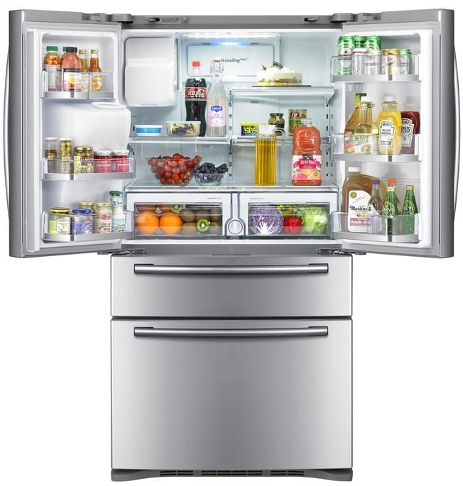 Samsung Rf4287hars 28 0 Cu Ft French Door Refrigerator