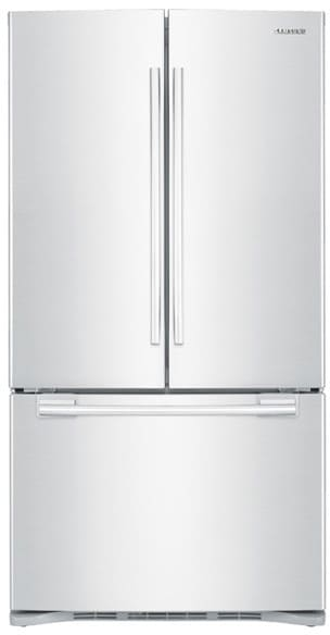 Samsung Rfg293ha 29 Cu Ft French Door Refrigerator With