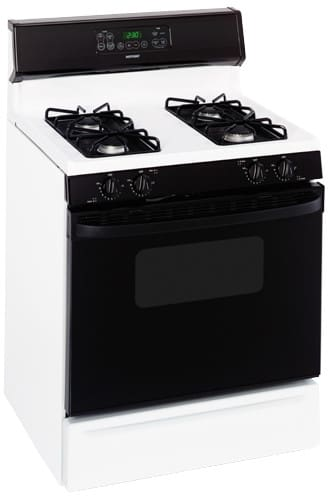 Hotpoint Rgb745behwh 30 Inch Freestanding Gas Range With 4
