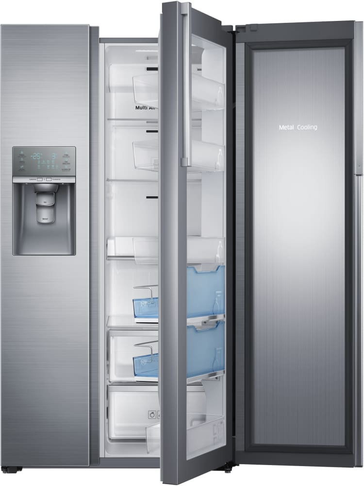 Samsung Rh29h9000sr 36 Inch Side By Side Refrigerator With