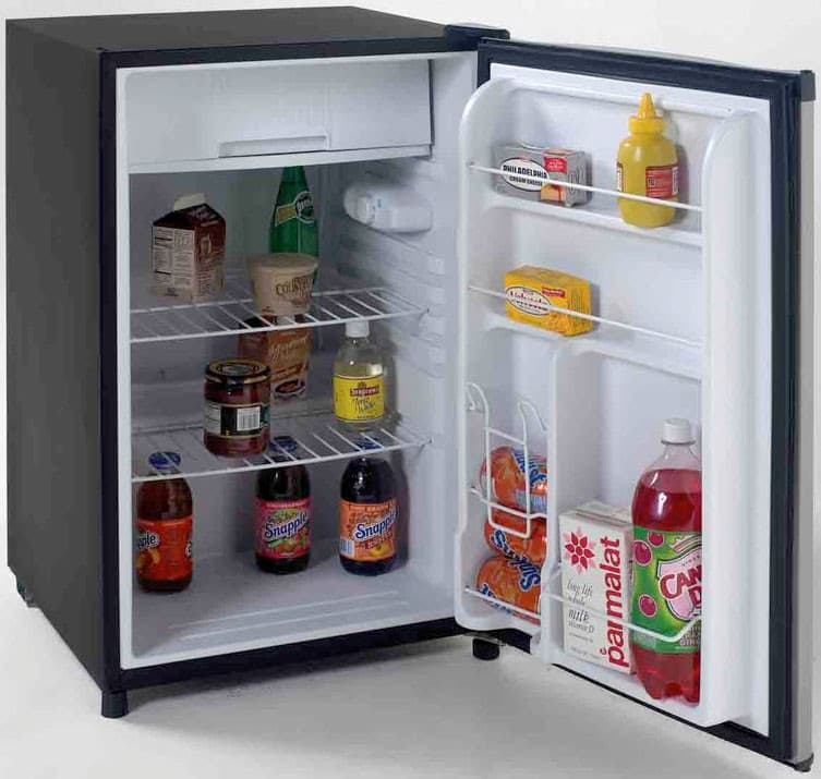 Avanti Rm4536ss 4 5 Cu Ft Compact Refrigerator With