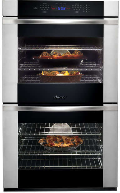 Dacor Rov230b 30 Inch Double Electric Wall Oven With 4 8