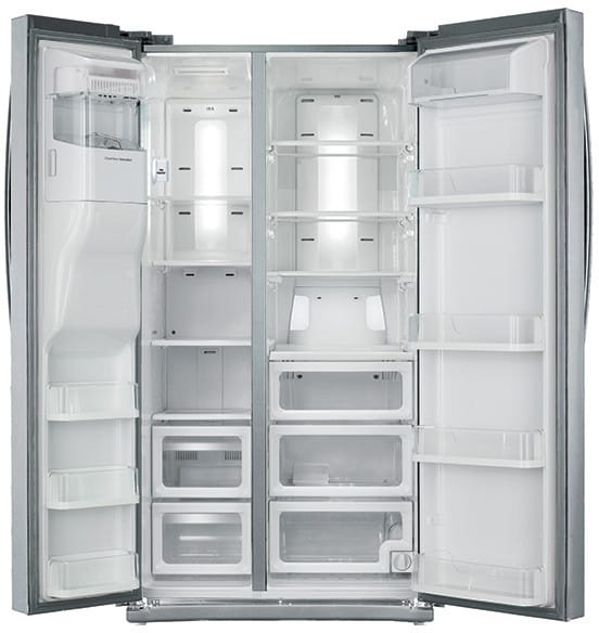 Samsung Rs25h5111sr 36 Inch Side By Side Refrigerator With