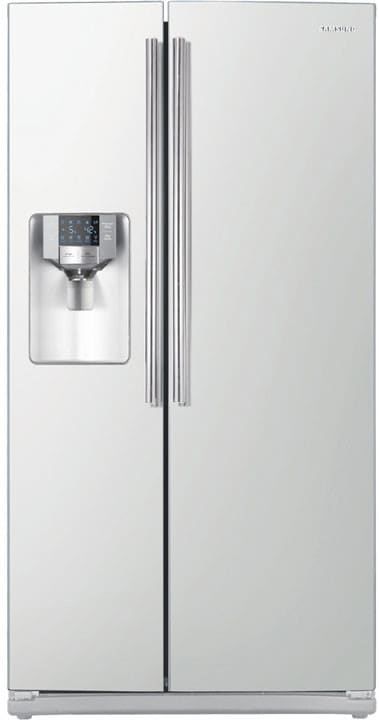 Samsung Rs265td 26 Cu Ft Side By Side Refrigerator With