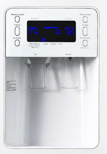Samsung Rs277acwp 27 0 Cu Ft Side By Side Refrigerator