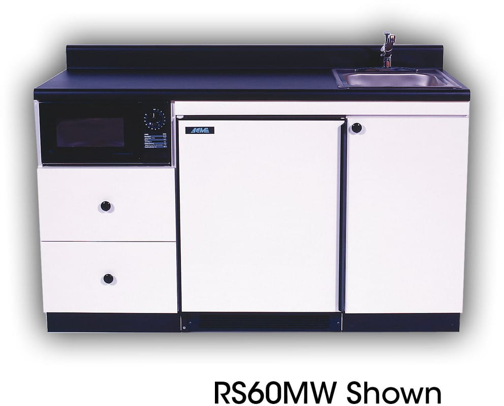 Acme rs60mw compact kitchen with stainless steel sink 0 7 for Ajmadison
