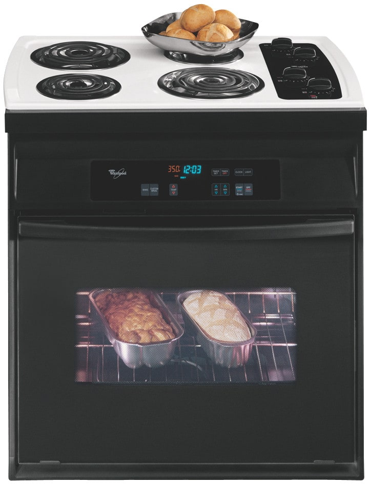 Whirlpool Rs610pxgv 30 Inch Drop In Electric Range With