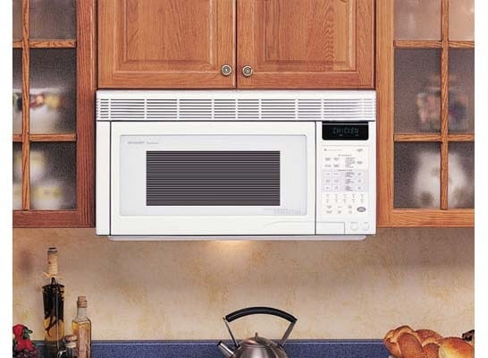 Sharp R1871t 1 1 Cu Ft Over The Range Convection