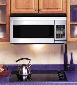Sharp R1874t Stainless Steel Built In View