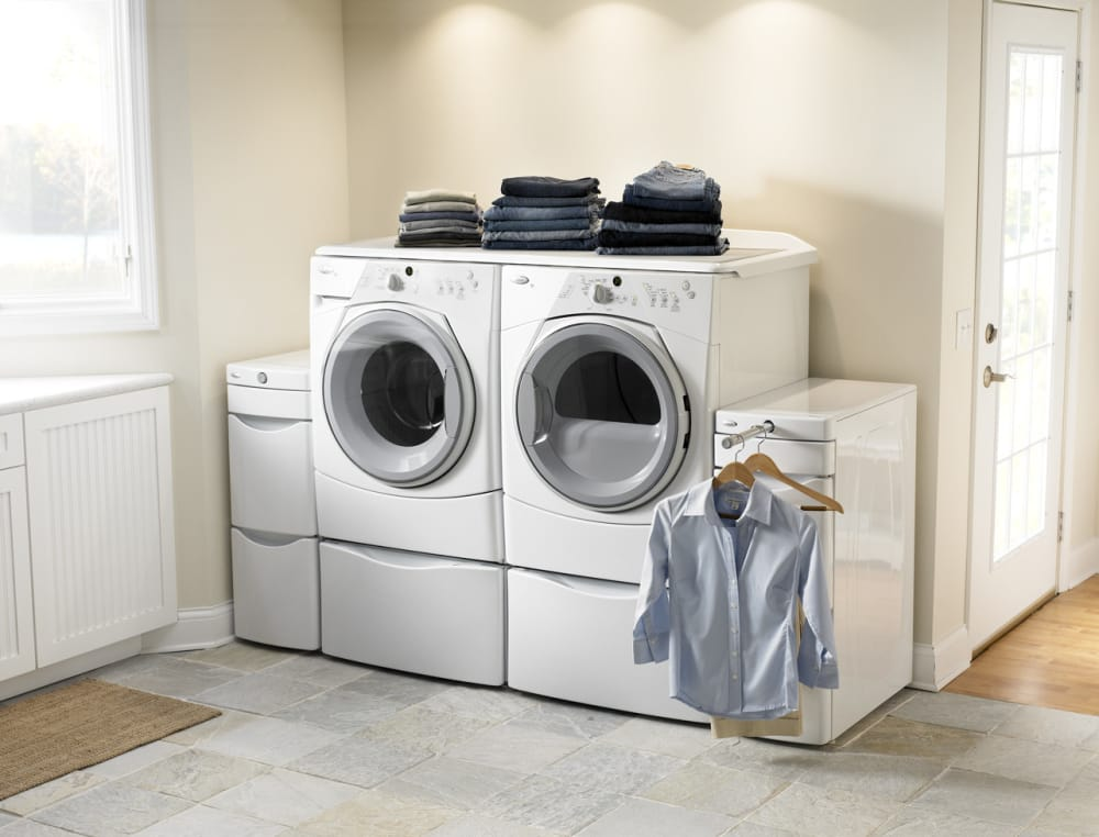 Whirlpool Wfw8400tw 27 Inch Front