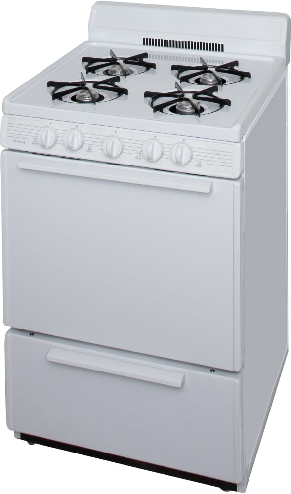 Premier Sck100o 24 Inch Freestanding Gas Range With 4 Open