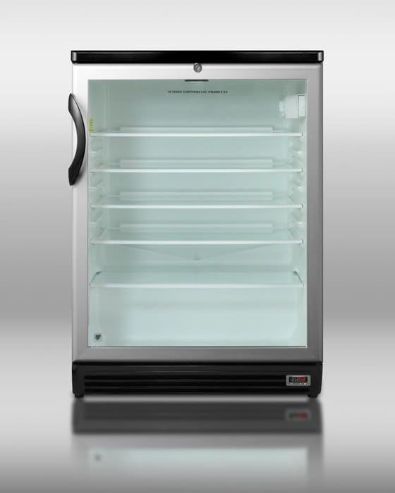 Summit Scr600blpub 24 Inch Compact Refrigerator With 5 5