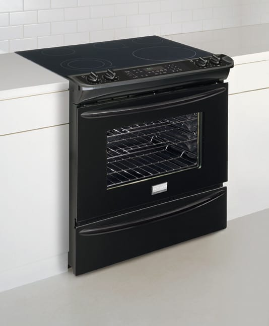 Frigidaire Fges3045kb 30 Inch Slide In Smoothtop Electric