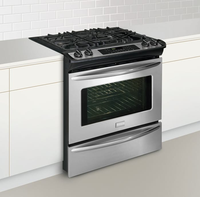Frigidaire Fggs3045k 30 Inch Slide In Gas Range With 4