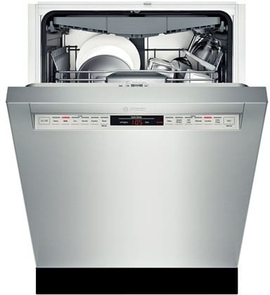 bosch she68tl5uc full console dishwasher with sanitize. Black Bedroom Furniture Sets. Home Design Ideas