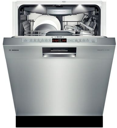 bosch she8pt55uc semi integrated dishwasher with 3rd rack. Black Bedroom Furniture Sets. Home Design Ideas