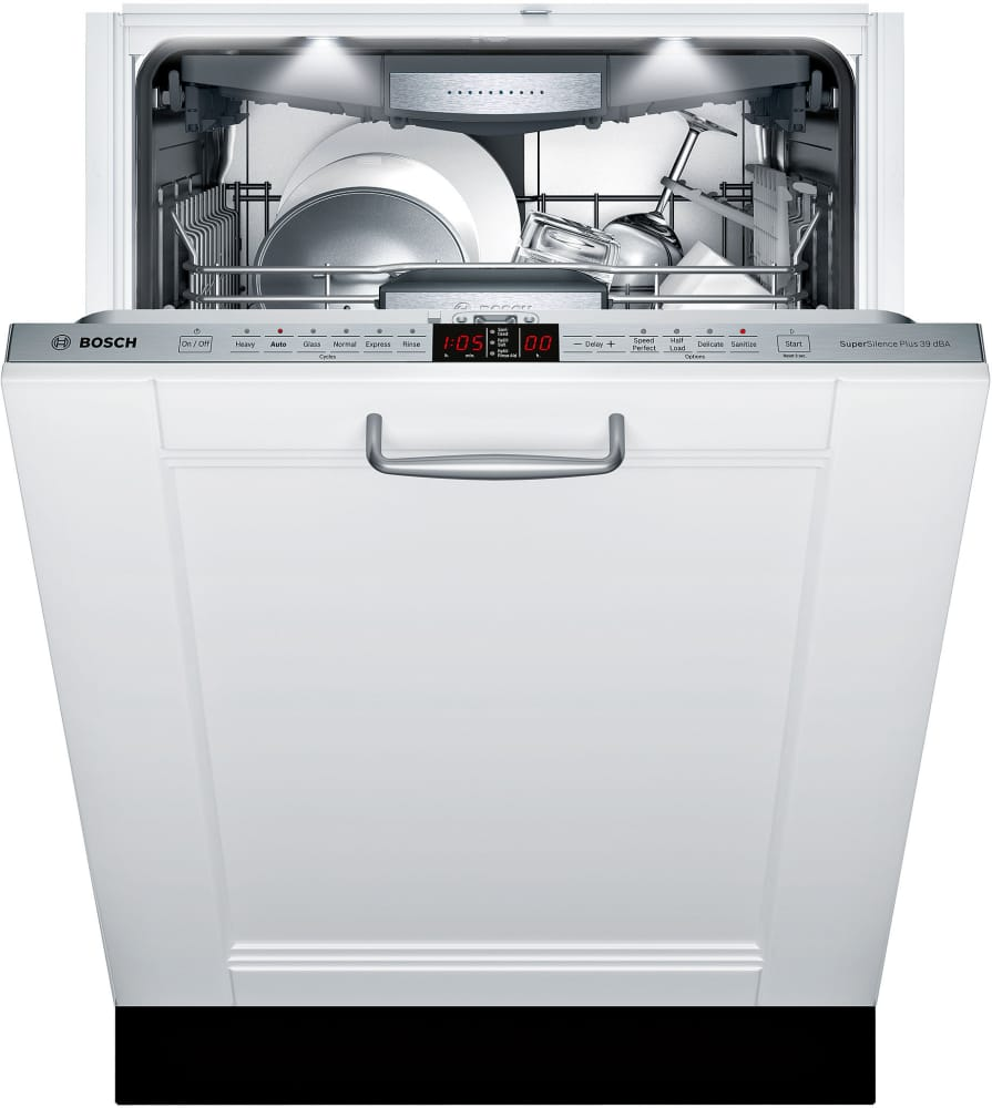 bosch shv9pt53uc fully integrated dishwasher with 3rd rack. Black Bedroom Furniture Sets. Home Design Ideas