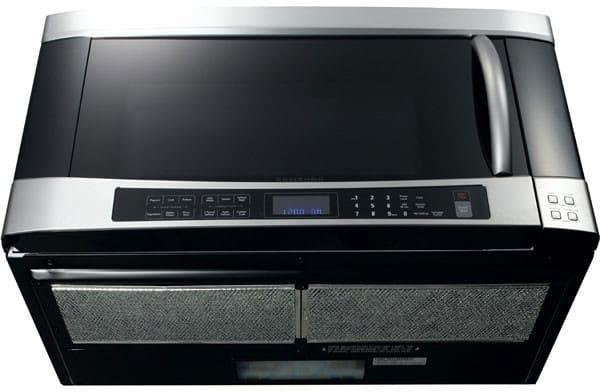 Samsung Smh9207st 2 0 Cu Ft Over The Range Microwave