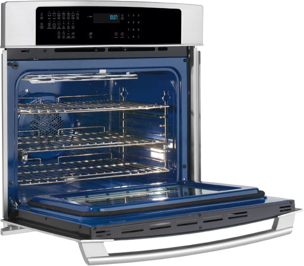 electrolux ei30ew35js 30 inch single electric wall oven with 4 2 cu ft 3rd element convection. Black Bedroom Furniture Sets. Home Design Ideas