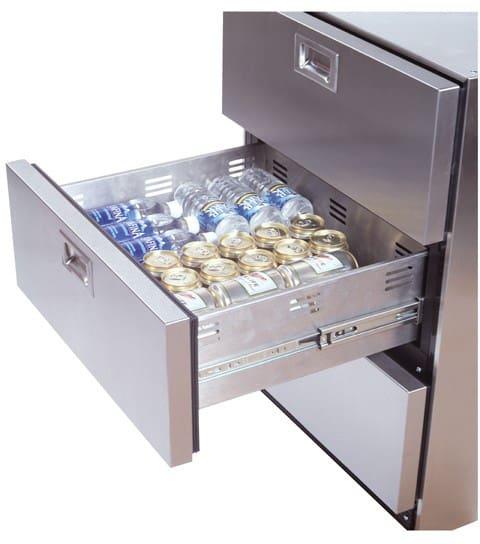 Summit Sp6ds7adax 24 Inch Triple Drawer Refrigerator With