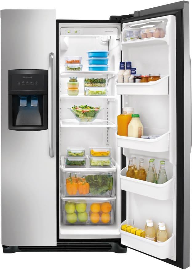 Frigidaire Ffhs2322ms 33 Inch Side By Side Refrigerator