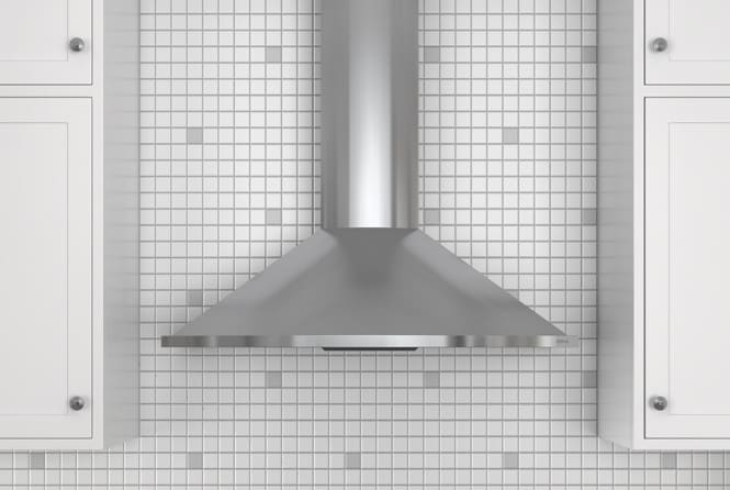 Zephyr Zsae30cs 30 Inch Wall Mount Chimney Range Hood With