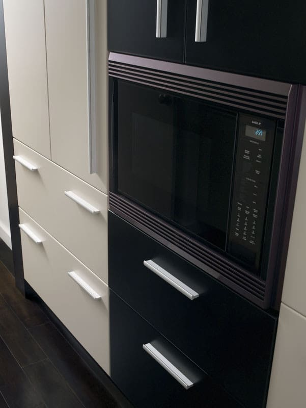 Trim Kit Wolf Mwc24 Touch Control Panel Kitchen View