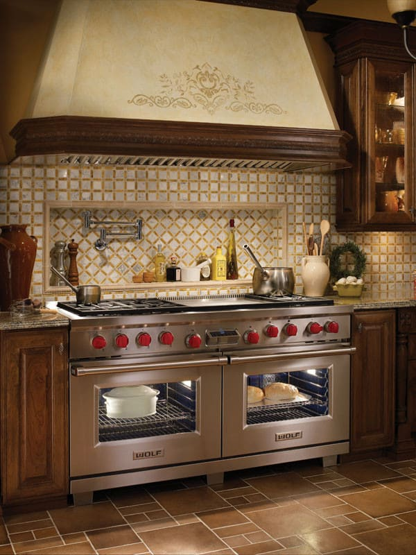 Wolf Df606f 60 Inch Pro Style Dual Fuel Range With 6 Dual