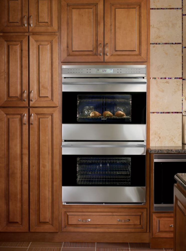 Wolf Do302gb 30 Inch Double Electric Wall Oven With 4 5 Cu