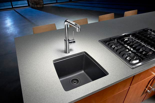 Blanco 440082 17 Inch Undermount Single Bowl Granite Sink