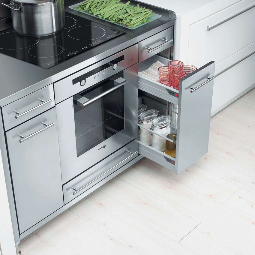Fagor CX4 50 Inch Cooking Storage Center with Large Capacity and Two ...