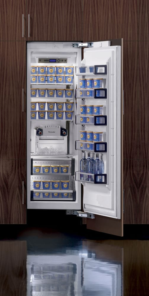 Thermador T24if70nsp 24 Inch Built In Fully Flush Freezer