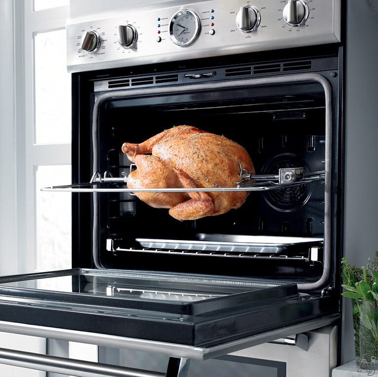 Thermador Podmw301 30 Inch Triple Combination Wall Oven