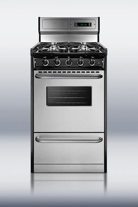 Summit Tlm13027bfkwy 20 Inch Freestanding Gas Range With 4