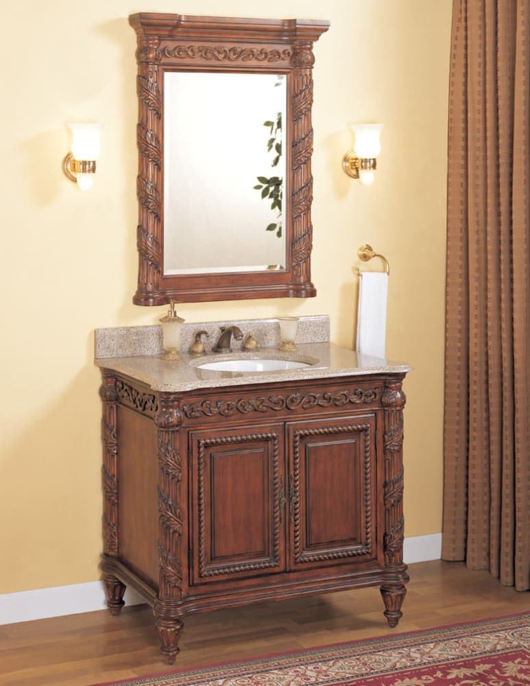 Empire Industries T30 30 Inch Traditional Hand Carved