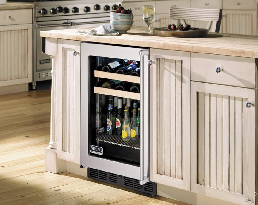 Viking Vbci1240grss 24 Inch Undercounter Beverage Center