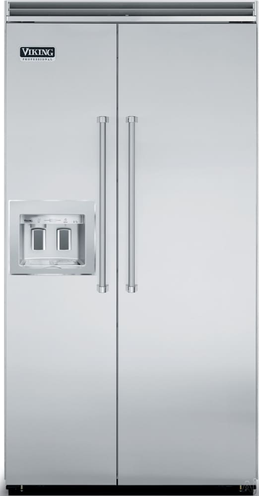 viking vcsb5421dss 42 inch quiet cool built in side by side viking professional series vcsb5421dss stainless steel