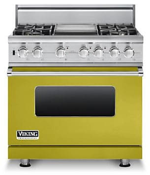 Inch stainless steel professional gas range with 6 burners and griddle - 36 Inch Pro Style Dual Fuel Range With 4 Vsh Pro Sealed Burners