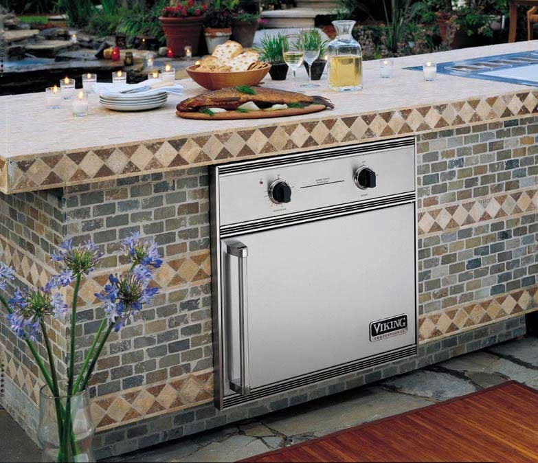 Viking Veos100tss 30 Inch Outdoor Electric Smoker Oven