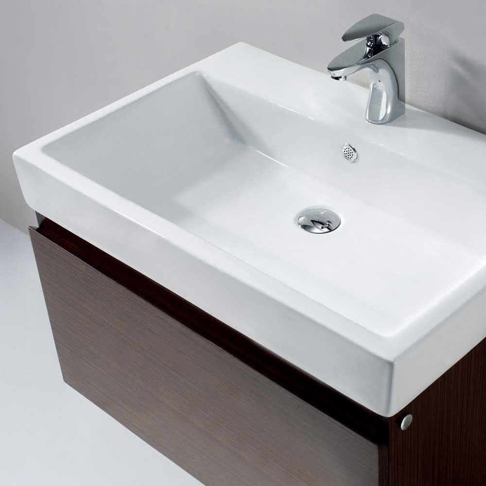 Bathroom Vanity With Sink Top.  Vigo Industries VG09018118K Top Mount Ceramic Sink 31 Inch Agalia Modern Wall