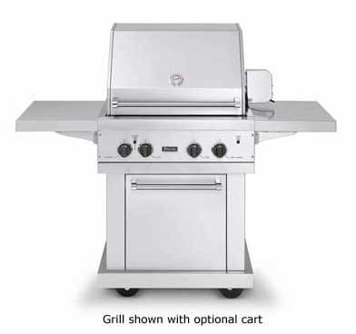 Viking vgbq3002rel 30 inch built in gas grill with 563 sq for Viking built in grill