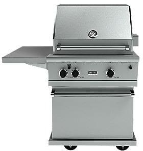 Viking vgbq33002relss 30 inch built in gas grill with 480 for Viking built in grill