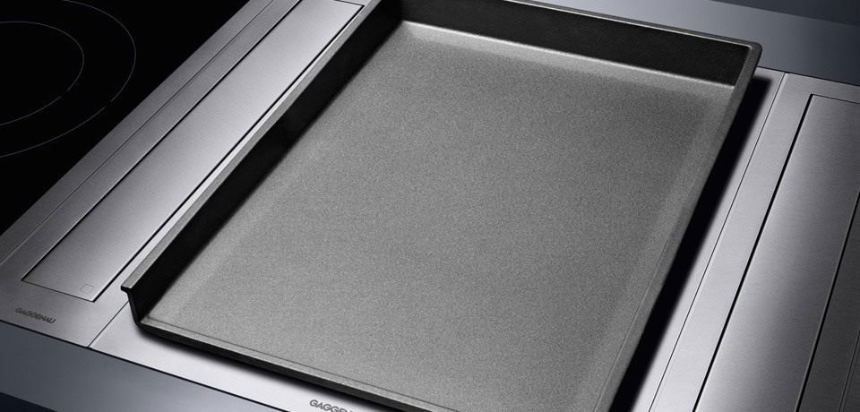 Gaggenau Vr414610 15 Inch Electric Grill With 2 Independent Heating