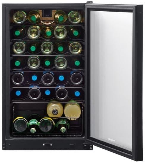 Frigidaire Ffwc35f4lb 20 Inch Freestanding Wine Cooler