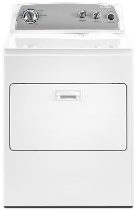 Whirlpool Wed4900xw 29 Inch Electric Dryer With 7 0 Cu Ft