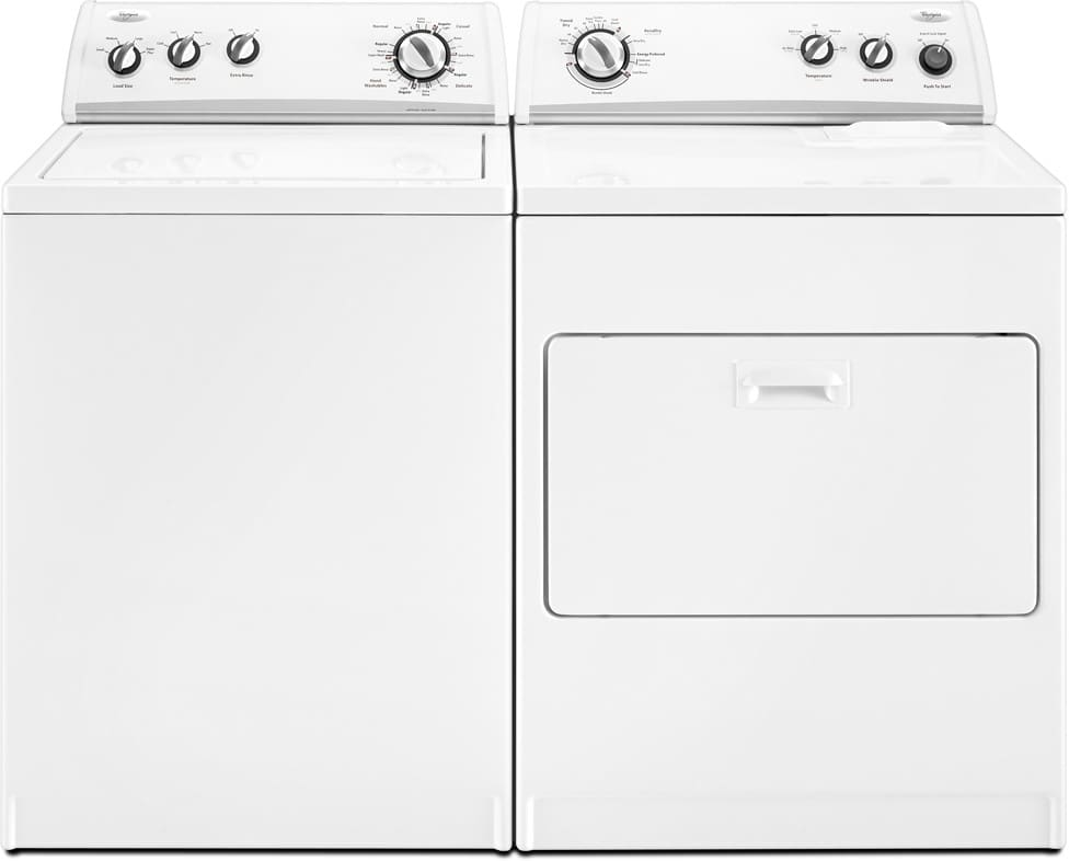 Whirlpool Wtw5600vq 27 Inch Top Load Washer With 3 5 Cu
