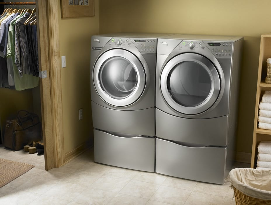 Whirlpool Wed9400su 27 Inch Electric Dryer With 7 0 Cu  Ft  Capacity  10 Cycles  5 Temperature