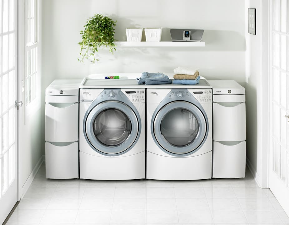 Whirlpool Wed9400sz 27 Inch Electric Dryer With 7 0 Cu  Ft  Capacity  10 Cycles  5 Temperature