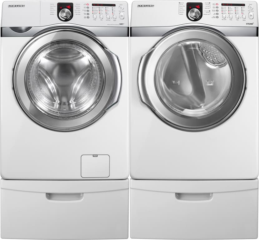 Samsung Wf410anw 27 Inch Front Load Washer With 4 3 Cu Ft
